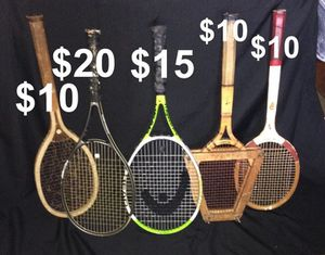 Vintage & New Tennis Rackets for Sale in Collingdale, PA