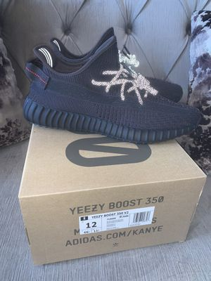 "Adidas Yeezy boost 350 V2 black ""non reflective"" size 12 for Sale in El Cajon, CA"