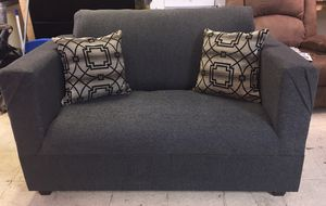 New Dark Gray Sofa and Loveseat for Sale in Greenville, MS