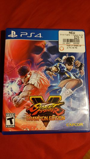 Street Fighter V for Sale in Chicago, IL