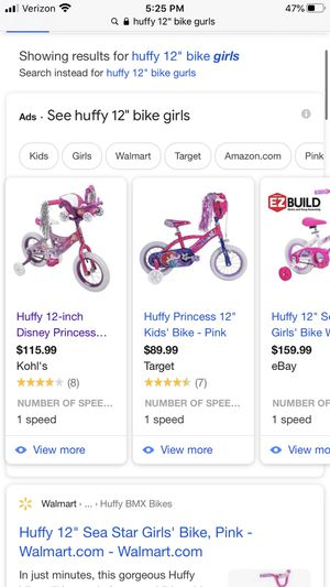 Huffy kids bike for Sale in Troup, TX