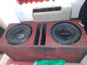 Pioneer 12' sub woofers speakers for Sale in UNM, NM