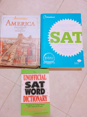 SAT Prep & Word book for Sale in Queens, NY