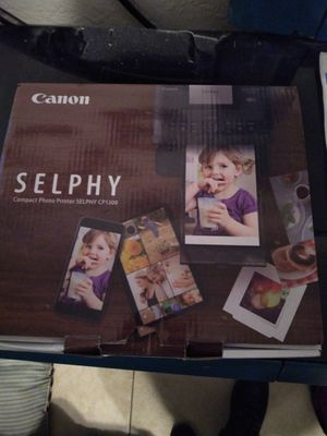 Canon selphy compact photo printer for Sale in Oakley, CA