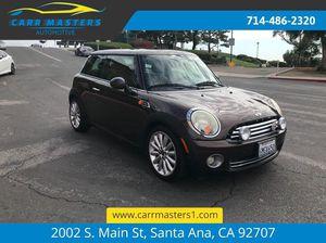 2010 Mini Cooper Mayfair special edition for Sale in Santa Ana, CA