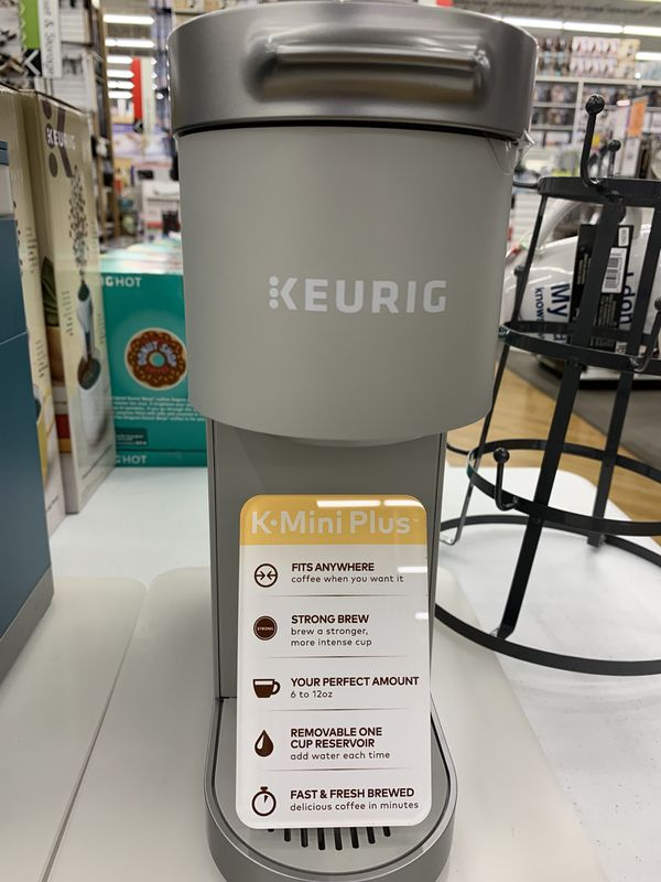 Keurig mini one cup
