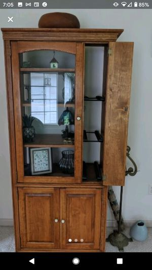 Wooden cabinet for Sale in Maple Shade Township, NJ