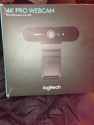 Logitech 4k webcam for Sale in Delaware Bay, US