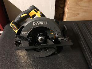 DEWALT FLEXVOLT 60-Volt MAX Lithium-Ion Cordless Brushless 7-1/4 in. Circular Saw (Tool-Only) for Sale in Gresham, OR