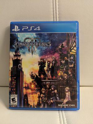 Kingdom Hearts 💙 III (ps4) for Sale in Palatine, IL