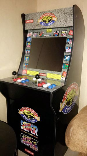 Street fighter 1,2,3 champion edition arcade game for Sale in Livingston, TX