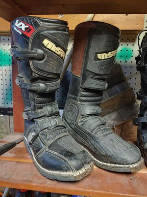 MSR dirt bike boots size 9 1/2 for Sale in West Valley City, UT