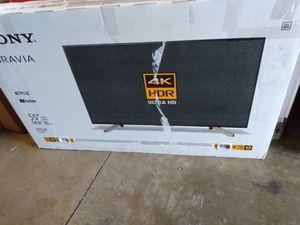 """55"""" Sony 4k smart led tv for Sale in Orange, CA"""