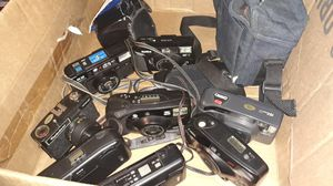 HUGE Vintage Camera & Camcorder lot!! With LOTS of Photo / Film accessories too. for Sale in Clovis, CA
