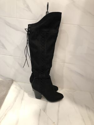 Wide calf over the knee boots for Sale in Land O Lakes, FL