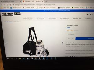 Dog carrier new. Top of the line-Sturdi brand for Sale in NO POTOMAC, MD