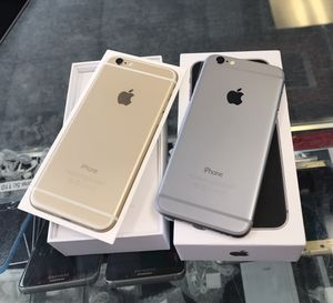iPhone 6 16gb Unlocked Excellent Condition (each) for Sale in Cary, NC