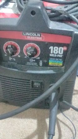 Lincoln Electric 180hd Weld Pack for Sale in Milwaukie,  OR