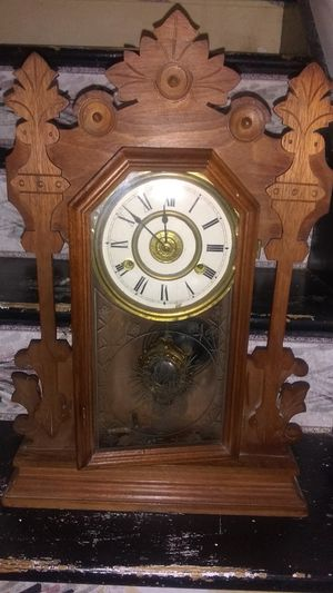 1878 antique working mini grandfather clock for Sale in Obetz, OH