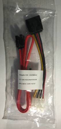 Hard Drive SATA Data Cable and with Power Cable for Sale in Chatsworth, CA