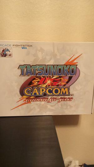 Wii Tatsunoko vs Capcom Arcade Fightstick for Sale in Tempe, AZ
