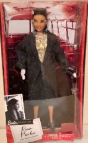 Rosa Parks Doll By Mattel New In Box for Sale in Baltimore, MD