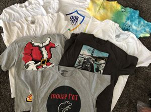 8 t-shirts for $7 sizes S and M for Sale in Fullerton, CA