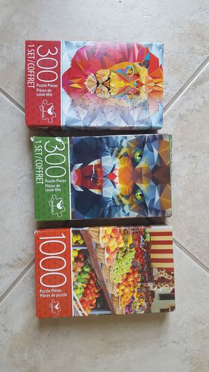 PUZZLES ($10 FOR ALL) for Sale in Escondido, CA