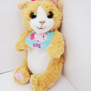 "furreal friends baby Hasbro Daisy orange kitty cat kitten plush with bib 6.5"" for Sale in Brooklyn, NY"
