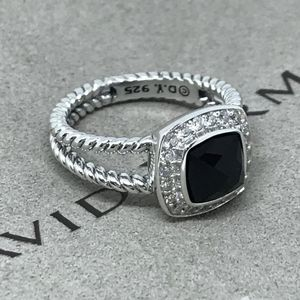 NWOT David Yurman Petite Albion Ring With Black Onyx And Diamonds Size 6.5 for Sale in Washington, DC