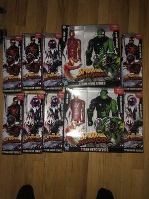 Marvel Spider-Man maximum venom titan hero series READ DESCRIPTION for Sale in Clinton Township, MI