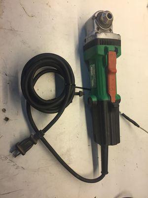 Hitachi 90 degree corded drill for Sale in Miami, FL