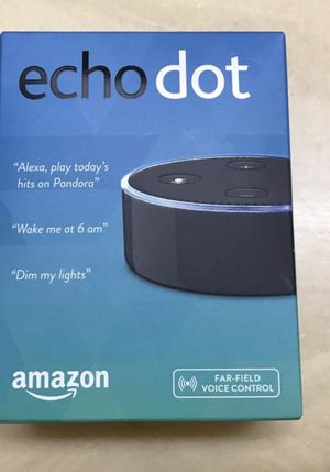 Voice activated bluetooth speaker : new echo dot for Sale in Miami, FL