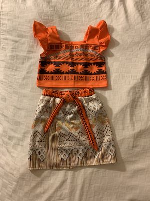Moana costume size 4T for Sale in Chandler, AZ