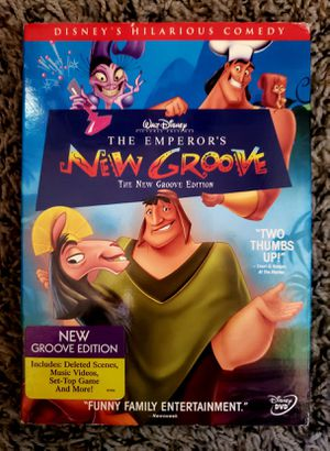 The Emperor's New Groove DVD for Sale in Bellflower, CA