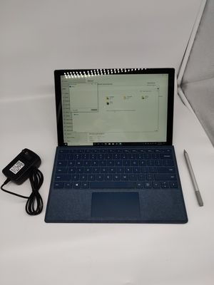 Surface Pro 5 with Surface Pen stylus and charger perfect condition for Sale in Spring, TX