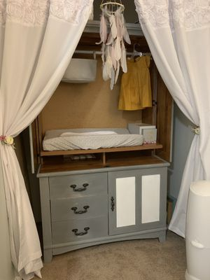 Changing table/ armoire for Sale in Tacoma, WA
