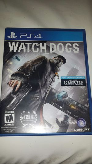 Watch Dogs PS4 for Sale in Peoria, AZ