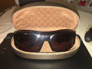 Gucci Sunglasses Brown with logo on arms for Sale in Boston, MA