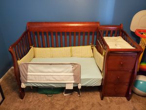 Crib and Bed in One for Sale in Prospect Heights, IL