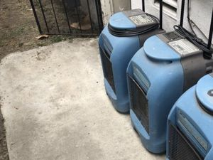 2 non-working Dri-Eaz Drizair 1200 model FOR PARTS DRIEAZ F203 COMMERCIAL DEHUMIDIFIERS TAKE BOTH TODAY NEED OUT 90019 1st $200 takes it today 90019 for Sale in Los Angeles, CA