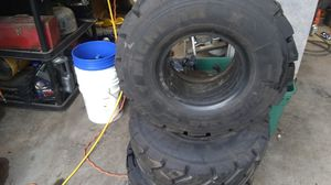 Michelin 225 75 R 10 Bobcat tires almost new for Sale in Elkins, WV