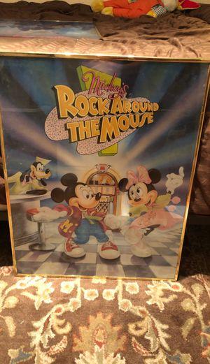 Framed Disney Print for Sale in Cooper City, FL