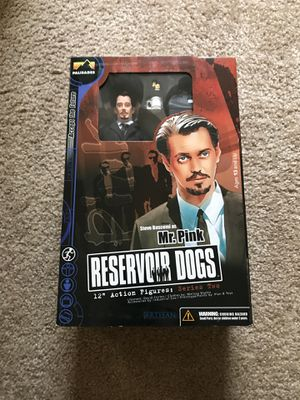 Reservoir Dogs 12 inch Action Figure. Mr. Pink. **RARE** for Sale in Morrisville, NC