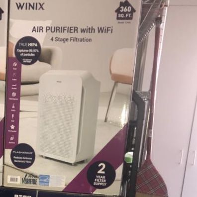Air Cleaner WINIX , New in box, Unopened! AIR Purifier, New Model C545 , True HEPA filtration with 2 Extra filters High performance Smart features