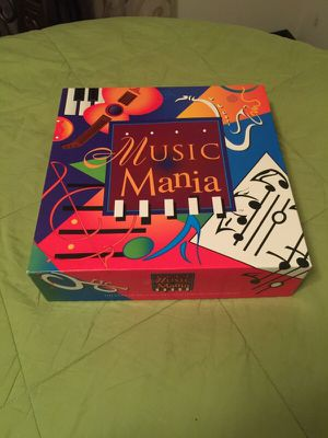Music Mania Board Game for Sale in Alexandria, VA