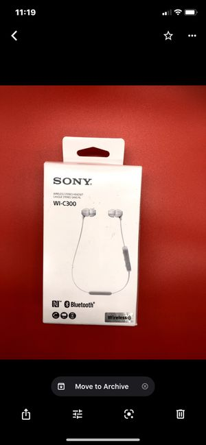 Sony wireless Stereo headset for Sale in Los Angeles, CA