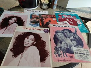 Vintage sheet music for Sale in Austin, TX