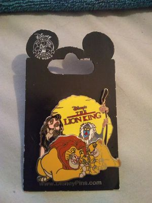 Disney's Lion King pin for Sale in Houston, TX