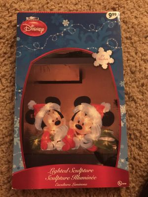 Disney lighted Sculpture Mickey Minnie like New for Sale in Beaverton, OR